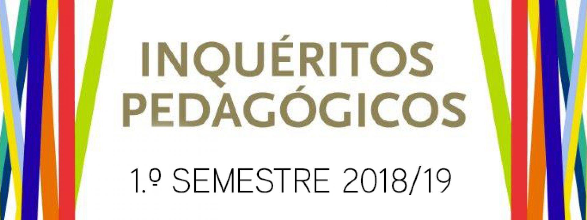 Preenchimento dos IPUPs 1 semestre 2018/2019