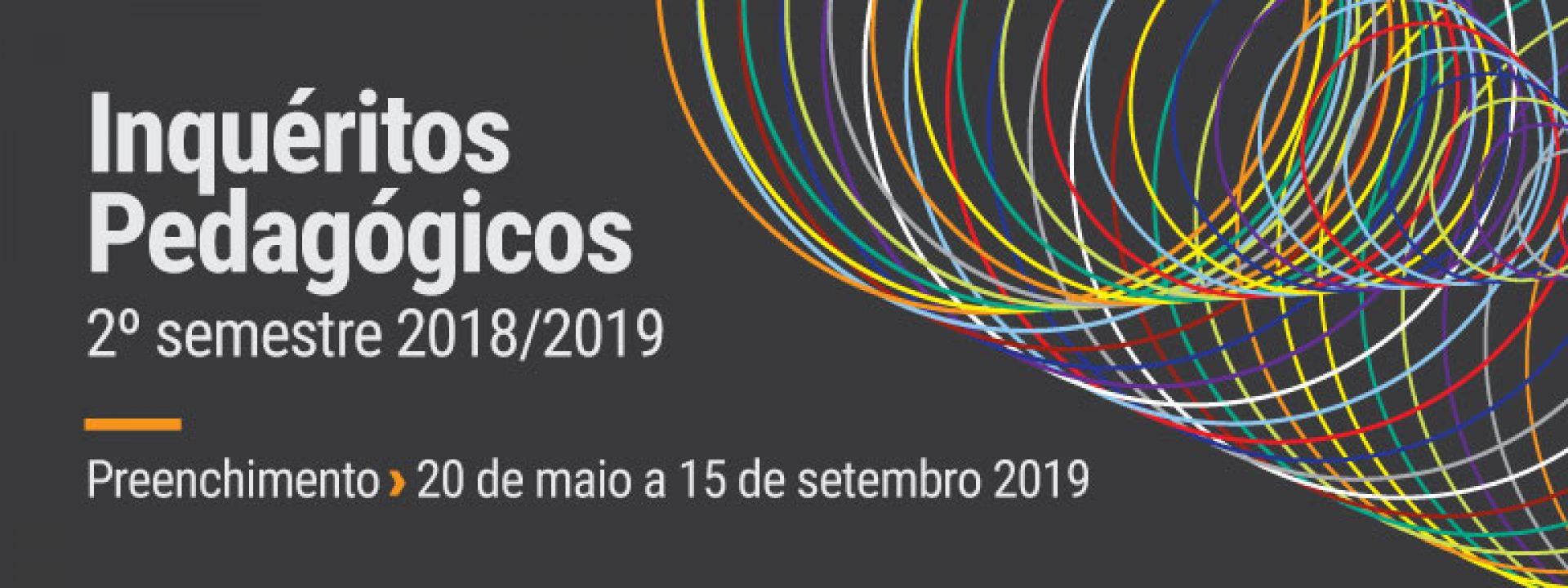 Preenchimento dos IPUPs 2 semestre 2018/2019
