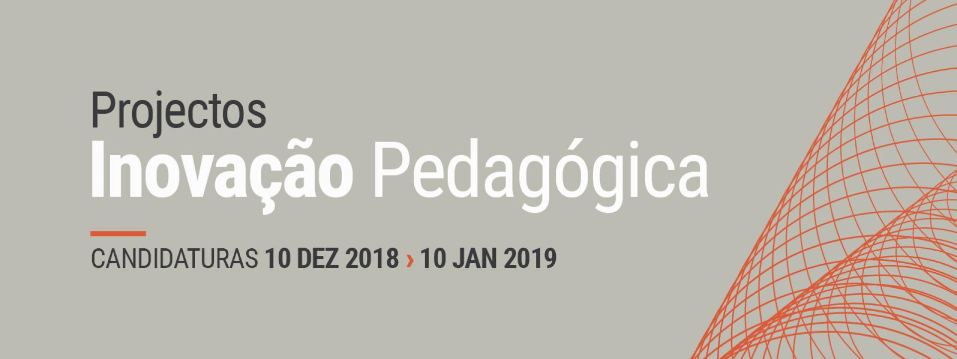 Projetos Inovação Pedagógica 2019