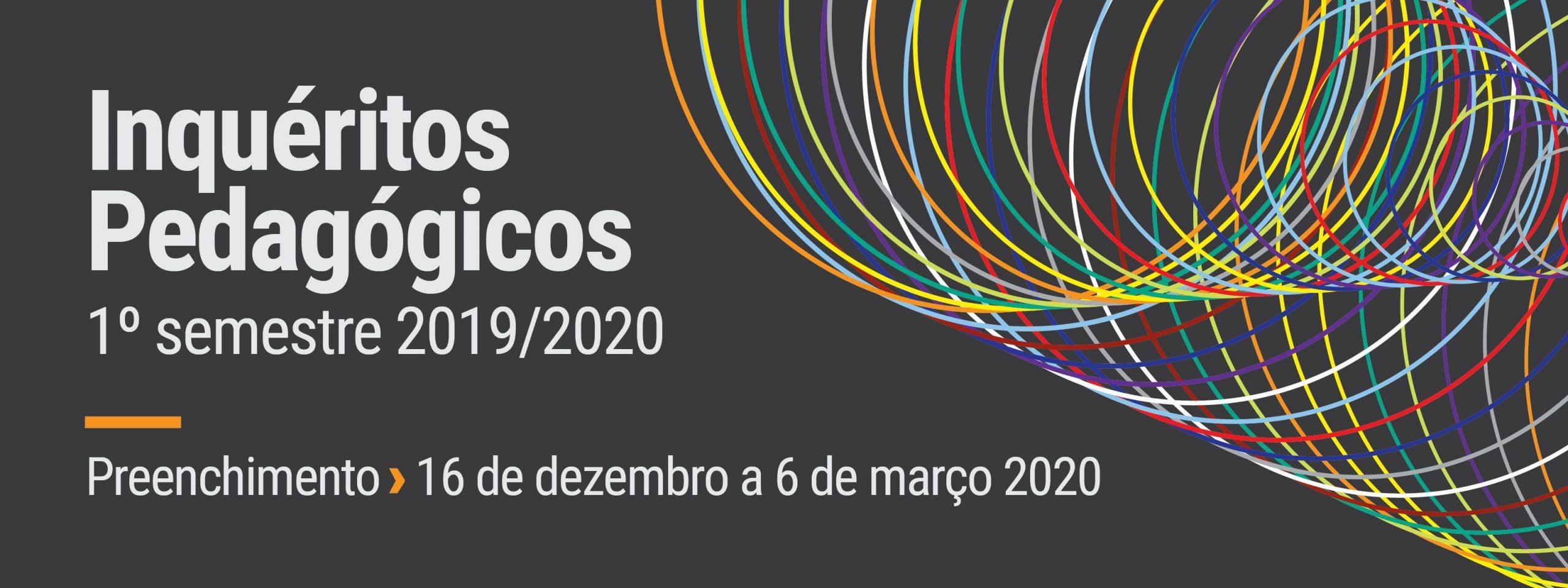 Preenchimento dos IPUPs 1 semestre 2019/2020